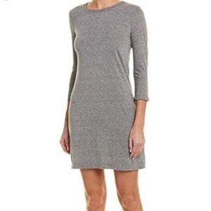 Current/Elliott Heather Grey 3/4 Sleeve Tee Dress